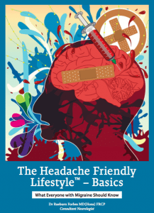 cover of The Headache Friendly Lifestyle book